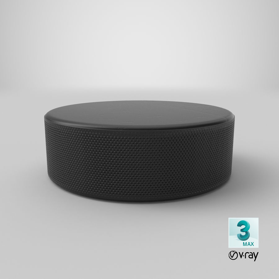 Hockey-Puck royalty-free 3d model - Preview no. 18