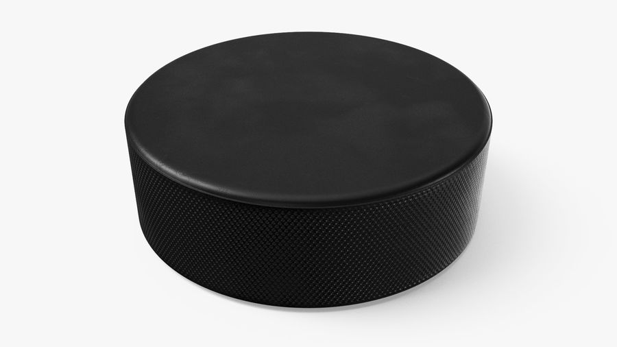 Hockey-Puck royalty-free 3d model - Preview no. 2