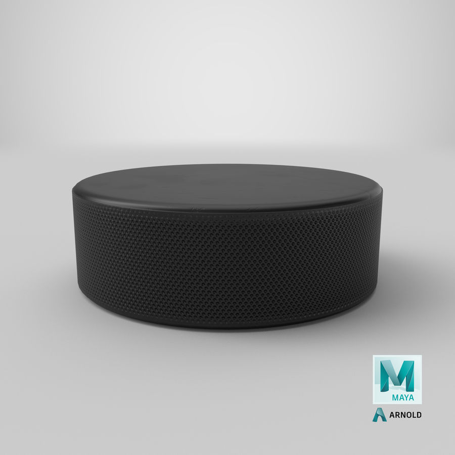 Hockey-Puck royalty-free 3d model - Preview no. 19