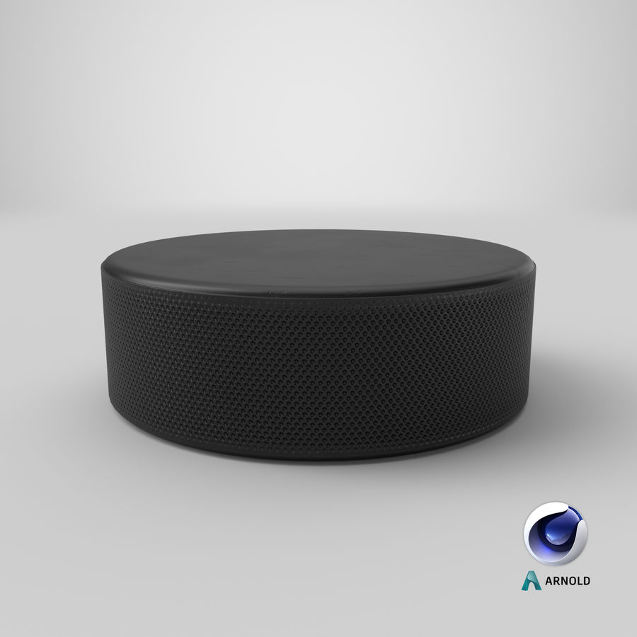 Hockey-Puck royalty-free 3d model - Preview no. 13