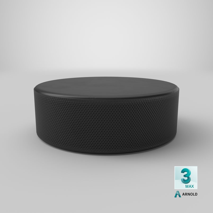 Hockey-Puck royalty-free 3d model - Preview no. 16