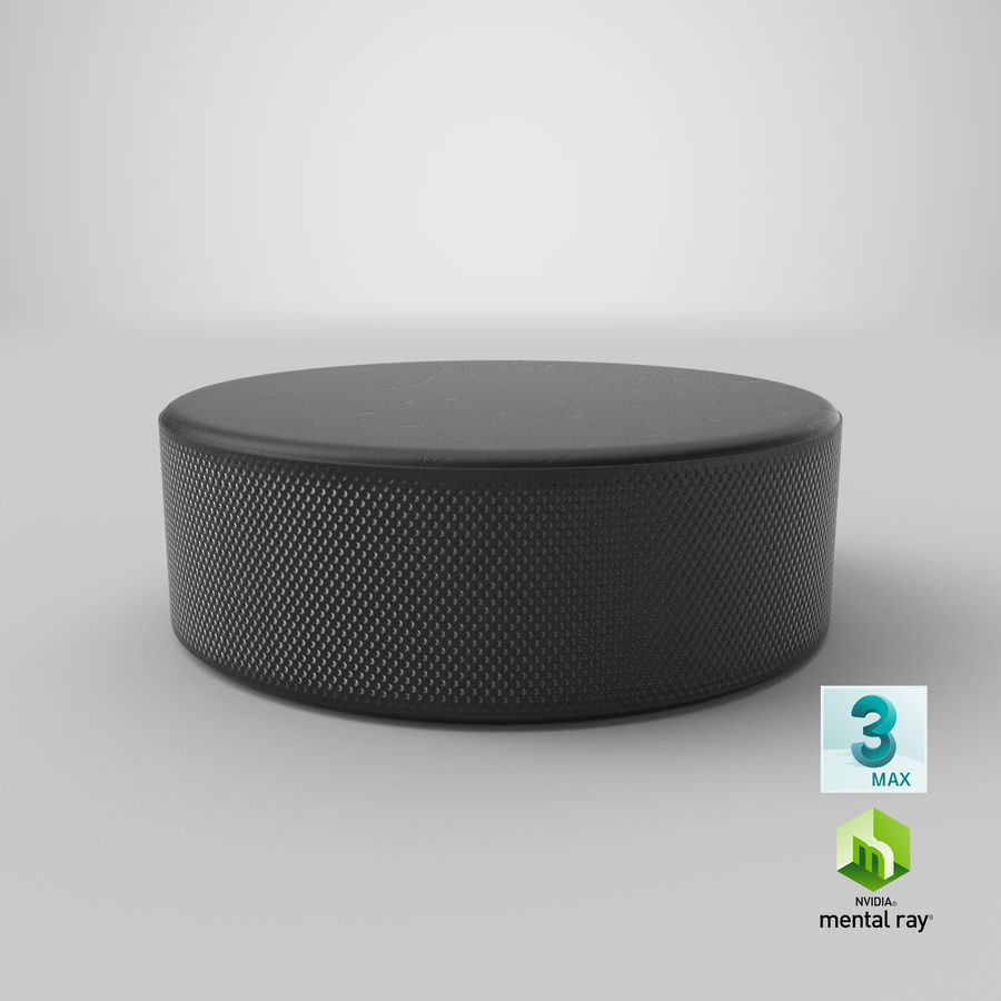 Hockey-Puck royalty-free 3d model - Preview no. 17