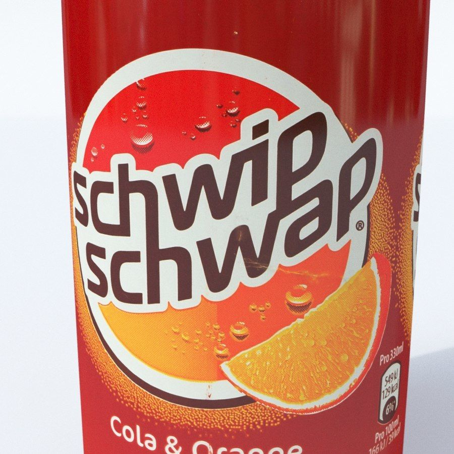 Schwipschwap은 할 수 있습니다 royalty-free 3d model - Preview no. 7