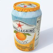 San Pellegrino can 3d model