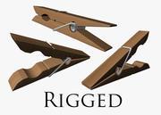 Wasknijper Rig 3d model