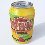 デスペラードビール缶 3d model