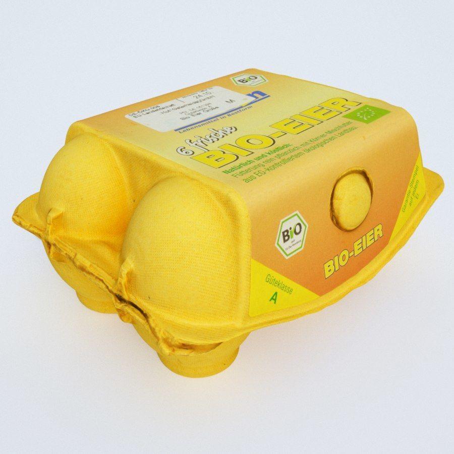 Egg carton royalty-free 3d model - Preview no. 6