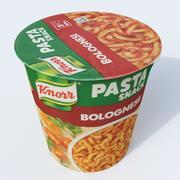 pasta al ragù 3d model