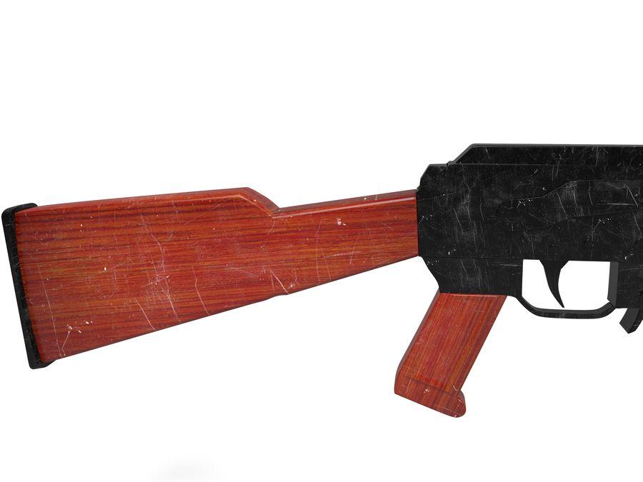 Ak-47 Usado royalty-free 3d model - Preview no. 5