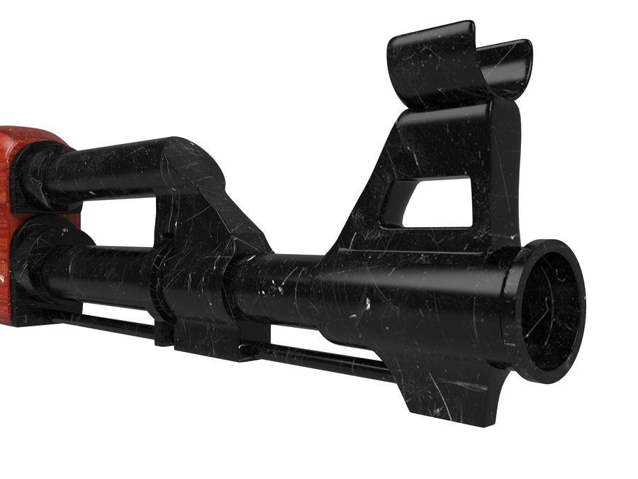 Ak-47 Usado royalty-free 3d model - Preview no. 7
