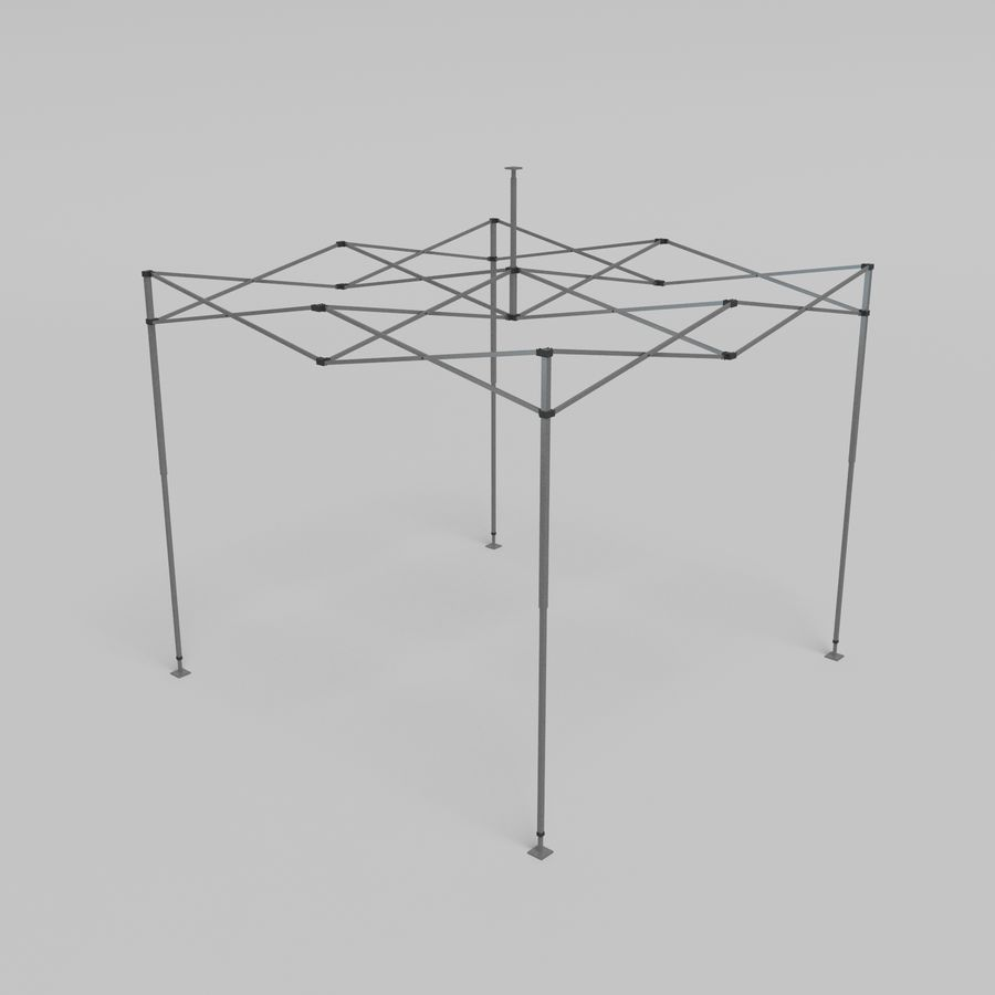 3D Tent marquee tabernacle pavilion #1 royalty-free 3d model - Preview no. 12