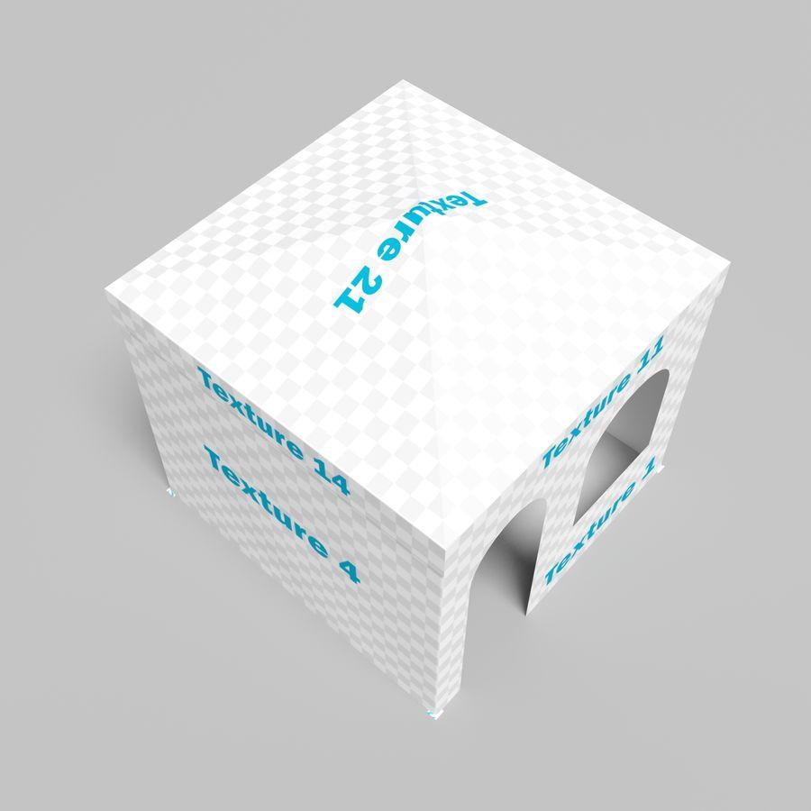 3D tent tent tent paviljoen # 1 royalty-free 3d model - Preview no. 9