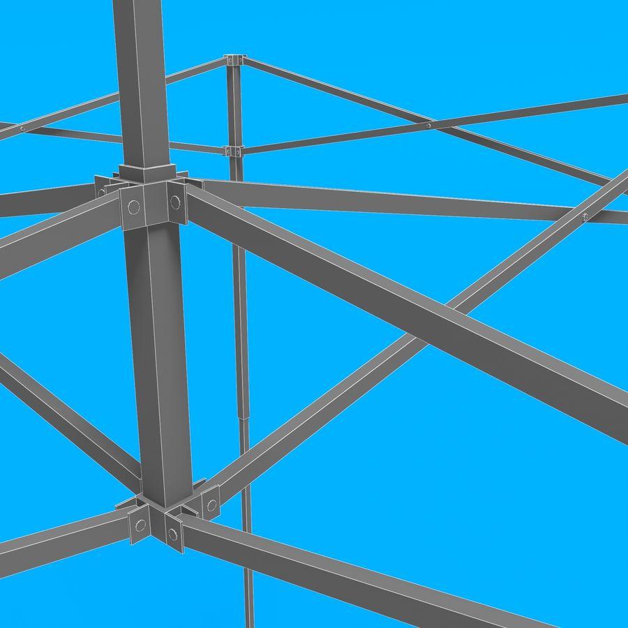 3D tent tent tent paviljoen # 1 royalty-free 3d model - Preview no. 14