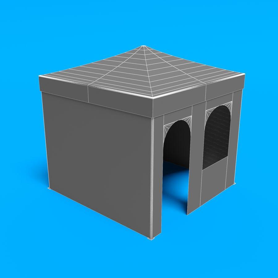 3D tent tent tent paviljoen # 1 royalty-free 3d model - Preview no. 16