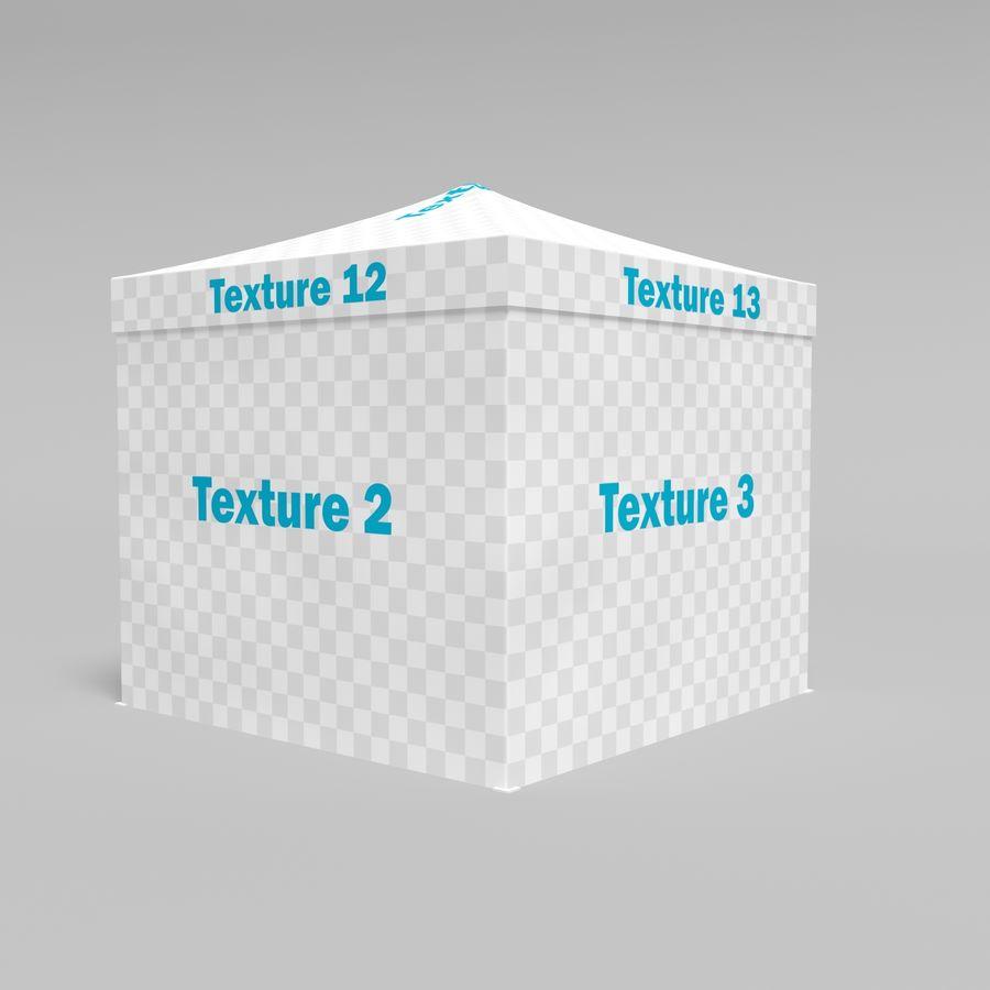 3D tent tent tent paviljoen # 1 royalty-free 3d model - Preview no. 7