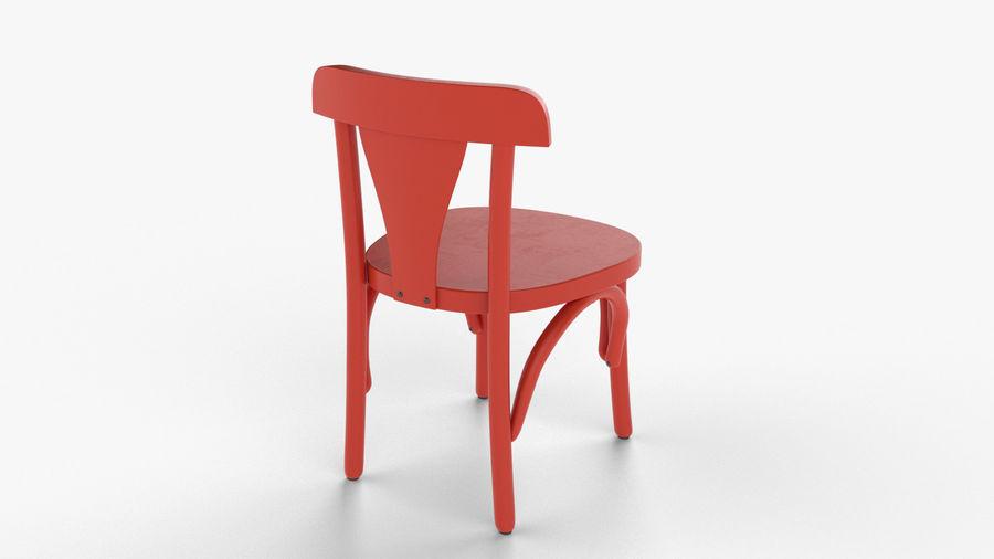 Детский стул royalty-free 3d model - Preview no. 2