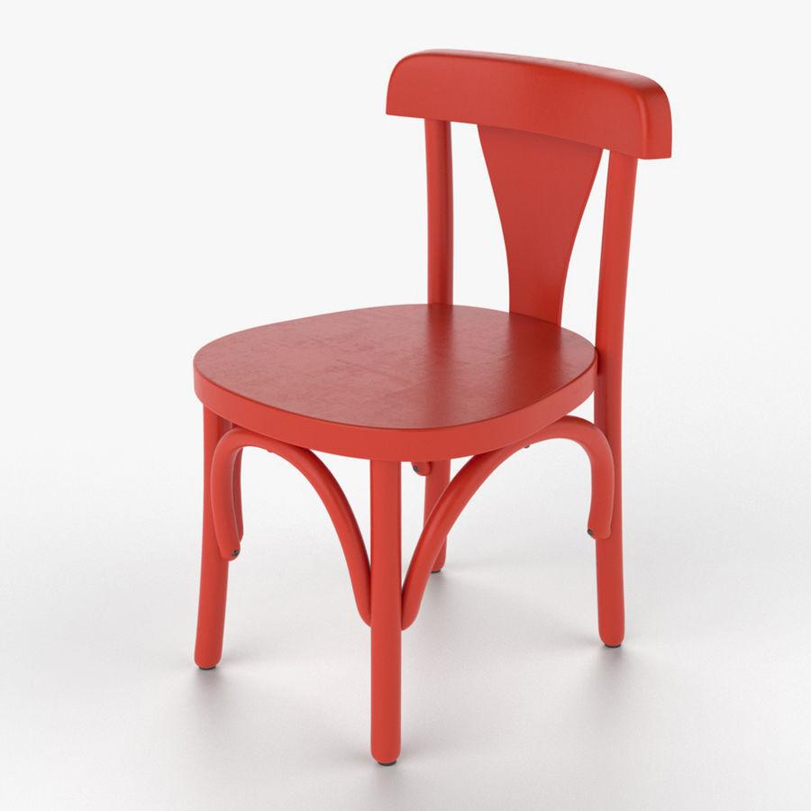 Детский стул royalty-free 3d model - Preview no. 1