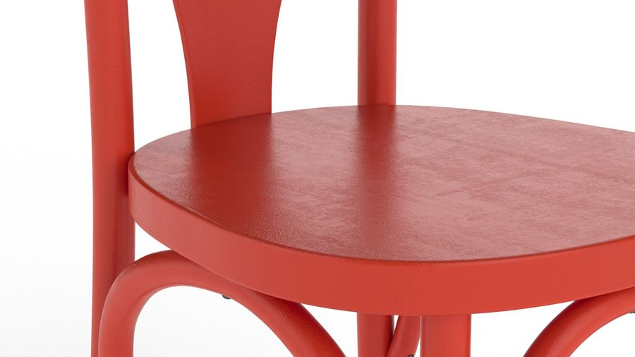 Детский стул royalty-free 3d model - Preview no. 6
