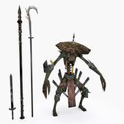 Personaggio 002 3d model