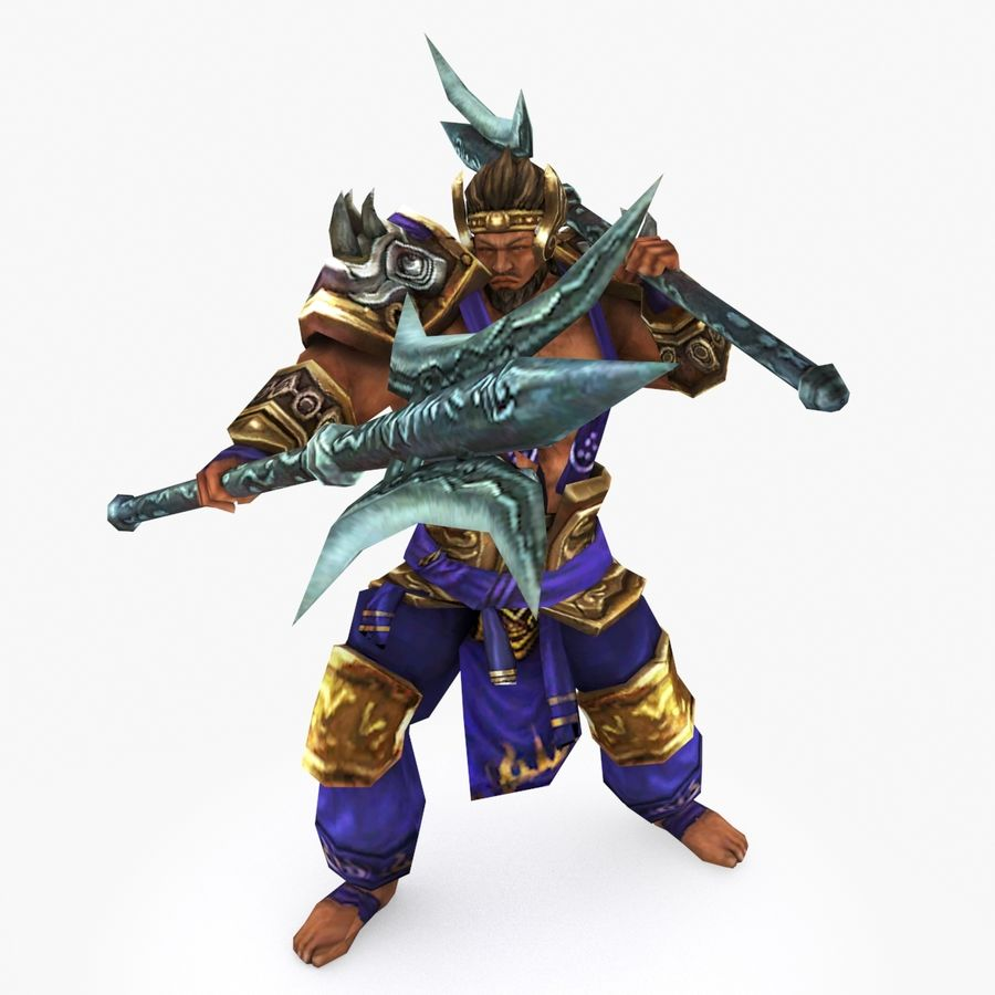 Character 003 royalty-free 3d model - Preview no. 1