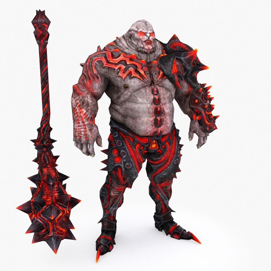 Character 004 royalty-free 3d model - Preview no. 1