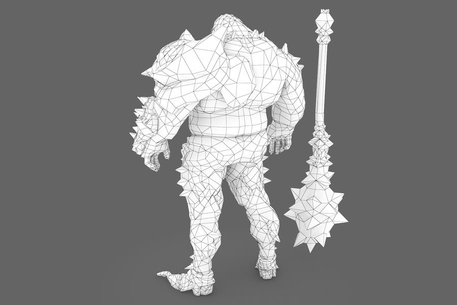 Character 004 royalty-free 3d model - Preview no. 9