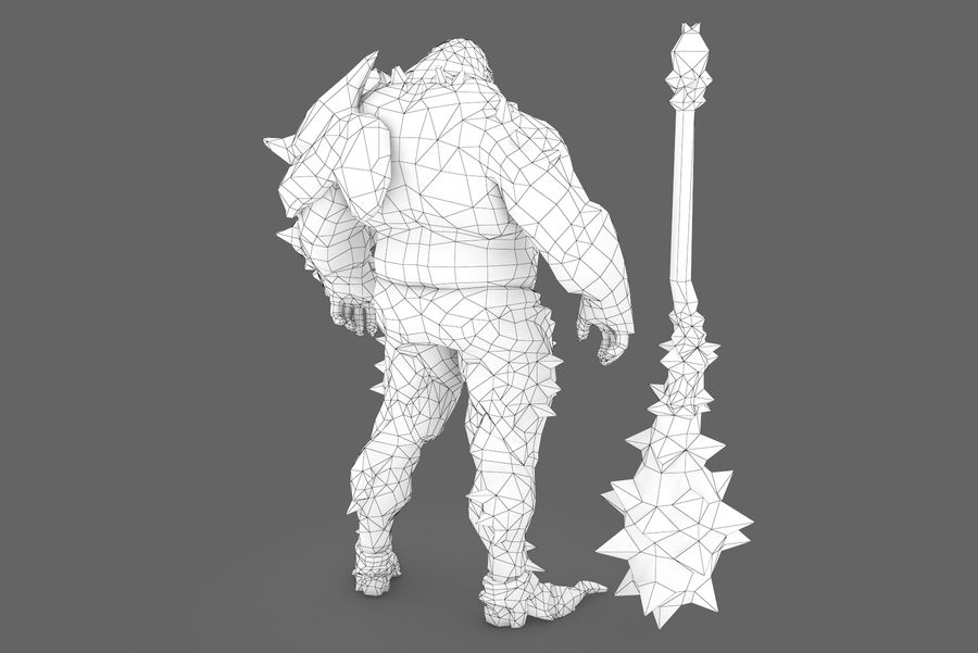 Character 004 royalty-free 3d model - Preview no. 10