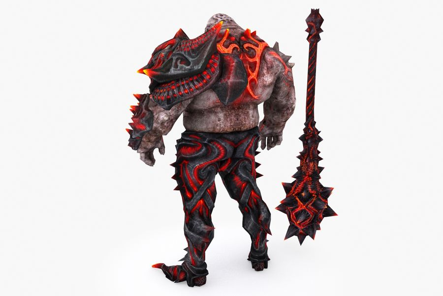 Character 004 royalty-free 3d model - Preview no. 4