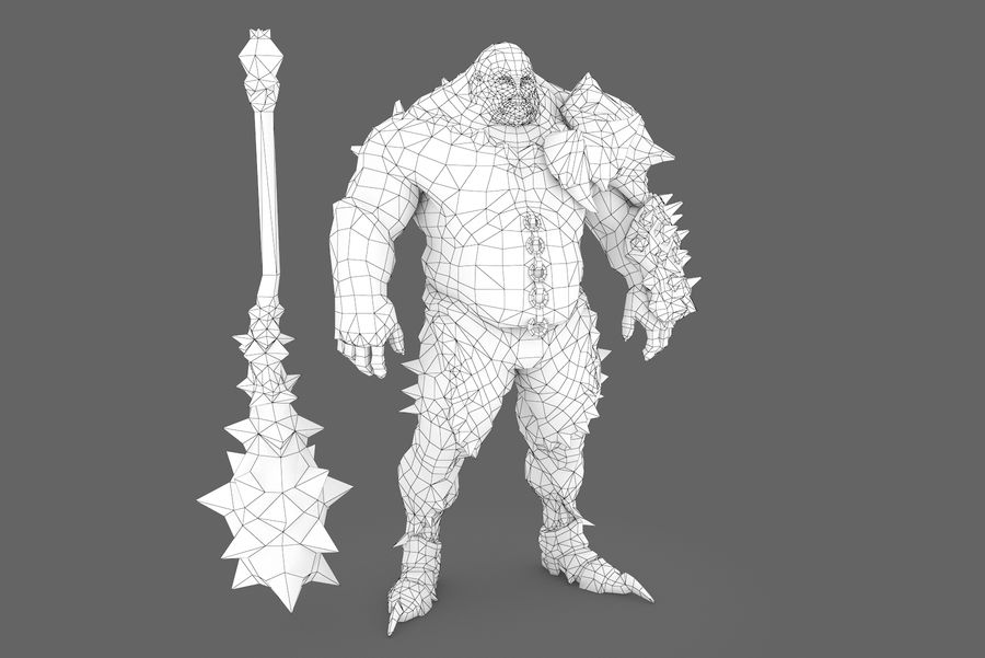 Character 004 royalty-free 3d model - Preview no. 7