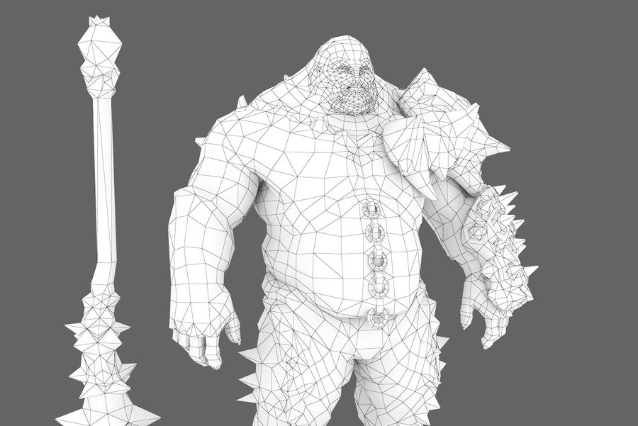 Character 004 royalty-free 3d model - Preview no. 11