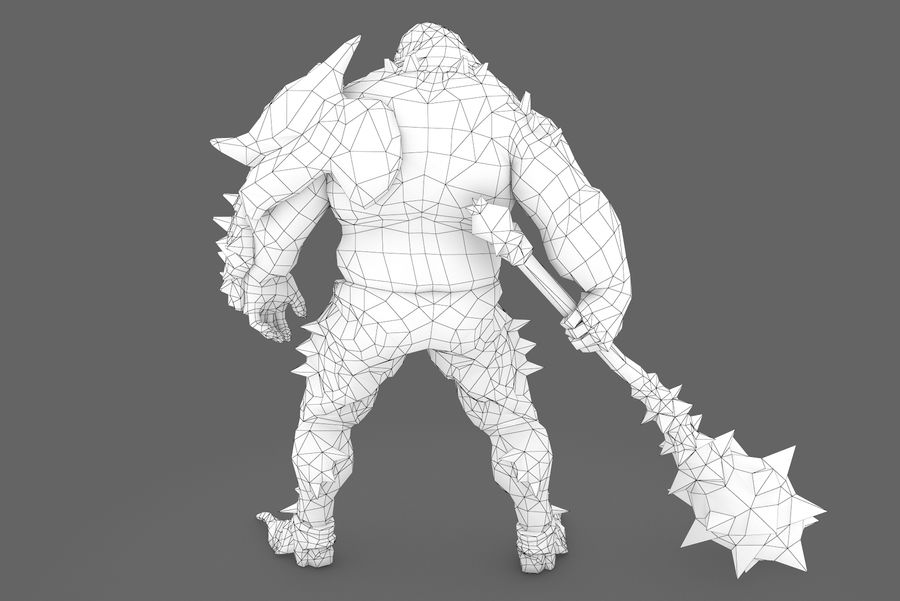 Character 005 royalty-free 3d model - Preview no. 9