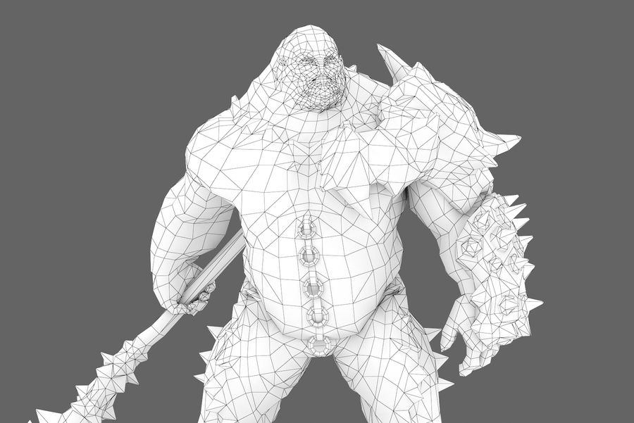 Character 005 royalty-free 3d model - Preview no. 11