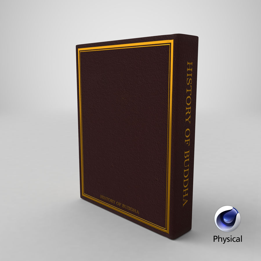 Storia del Buddha royalty-free 3d model - Preview no. 17