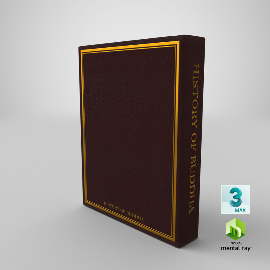 Storia del Buddha royalty-free 3d model - Preview no. 22