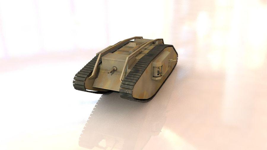 Vrouwelijke militaire tank royalty-free 3d model - Preview no. 16