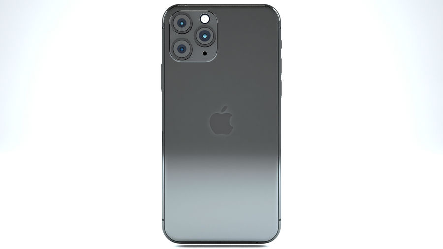 Apple IPhone 11 Pro royalty-free 3d model - Preview no. 6