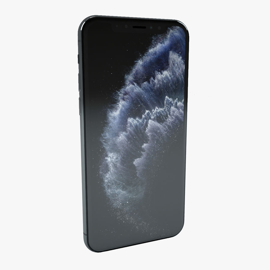 Apple IPhone 11 Pro royalty-free 3d model - Preview no. 1