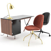 Set de bureau par GUBI 3d model