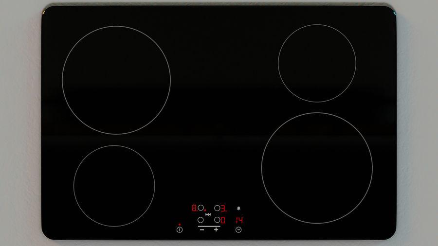 Mueble de cocina royalty-free modelo 3d - Preview no. 11