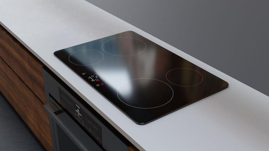 Mueble de cocina royalty-free modelo 3d - Preview no. 10