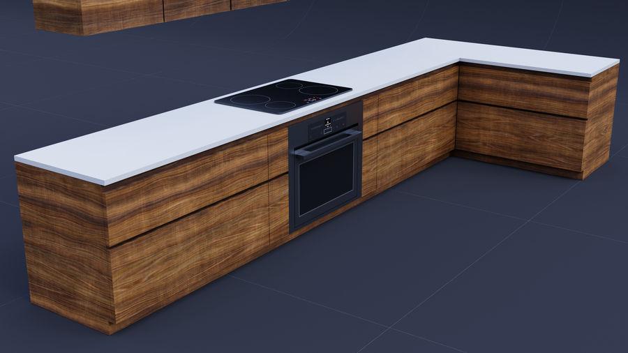 Mueble de cocina royalty-free modelo 3d - Preview no. 9