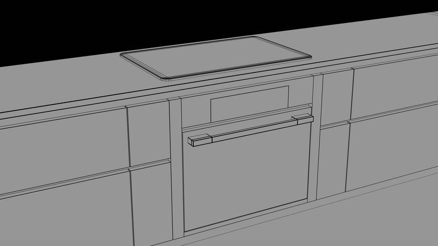 Mueble de cocina royalty-free modelo 3d - Preview no. 21