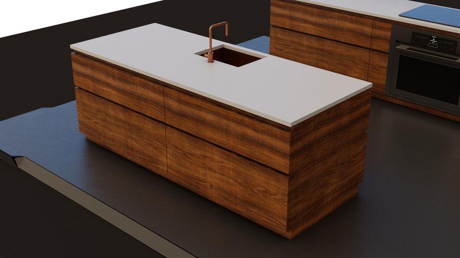 Mueble de cocina royalty-free modelo 3d - Preview no. 8