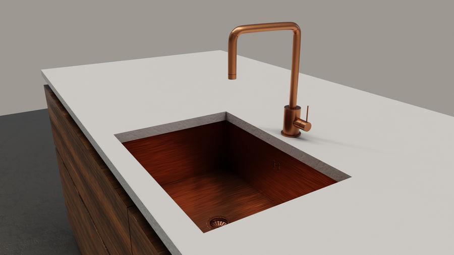 Mueble de cocina royalty-free modelo 3d - Preview no. 13