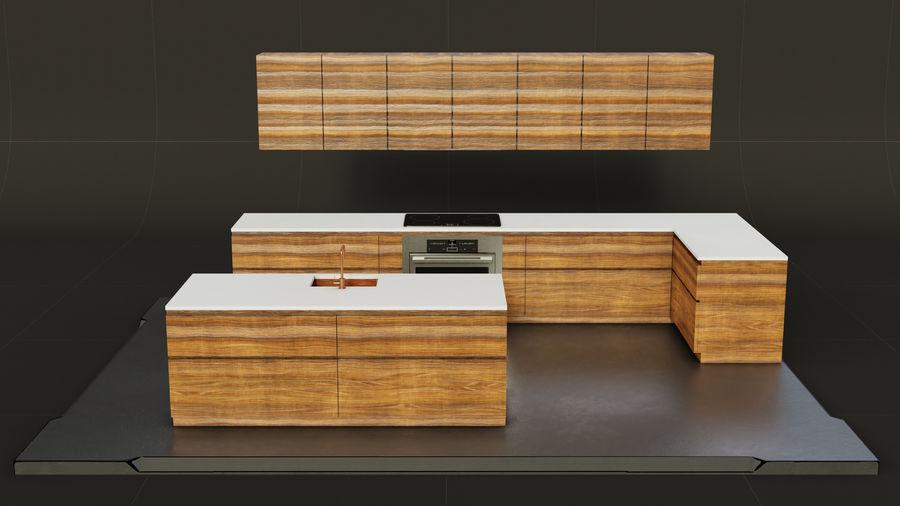 Mueble de cocina royalty-free modelo 3d - Preview no. 3
