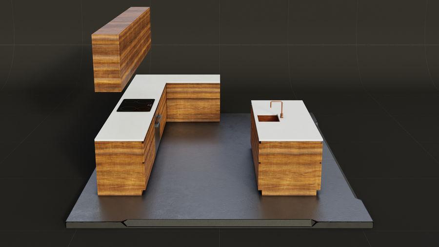 Mueble de cocina royalty-free modelo 3d - Preview no. 4