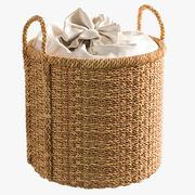 Zara Home Basket Basket 3d model