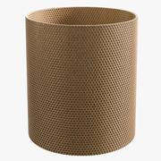 Rattan Wastepaper Basket 3d model