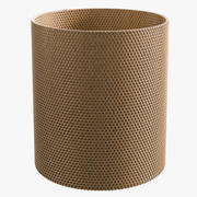 Rattan Wastepaper Basket 3d model