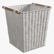 Zara Tall Basket 3d model